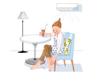 [ 小暑のツボ ] 夏のむくみ、冷えに