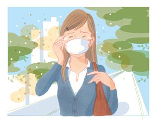 [ 雨水のツボ ] 花粉症に