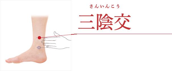 三陰交(さんいんこう)