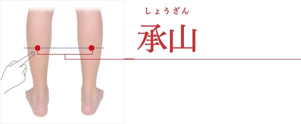 承山(しょうざん)